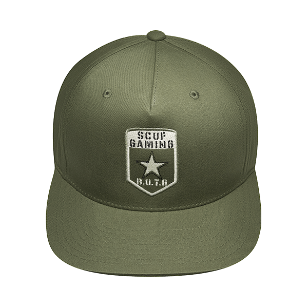 BOTG Flat Bill Hat Green