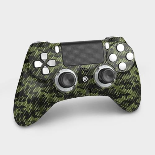 Scuf Impact Hex Camo Army Green