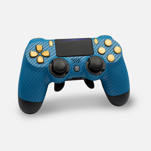 Scuf Infinity4PS Pro Carbon Fiber Blue