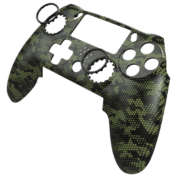 Vantage Faceplate - Hex Camo Army Green