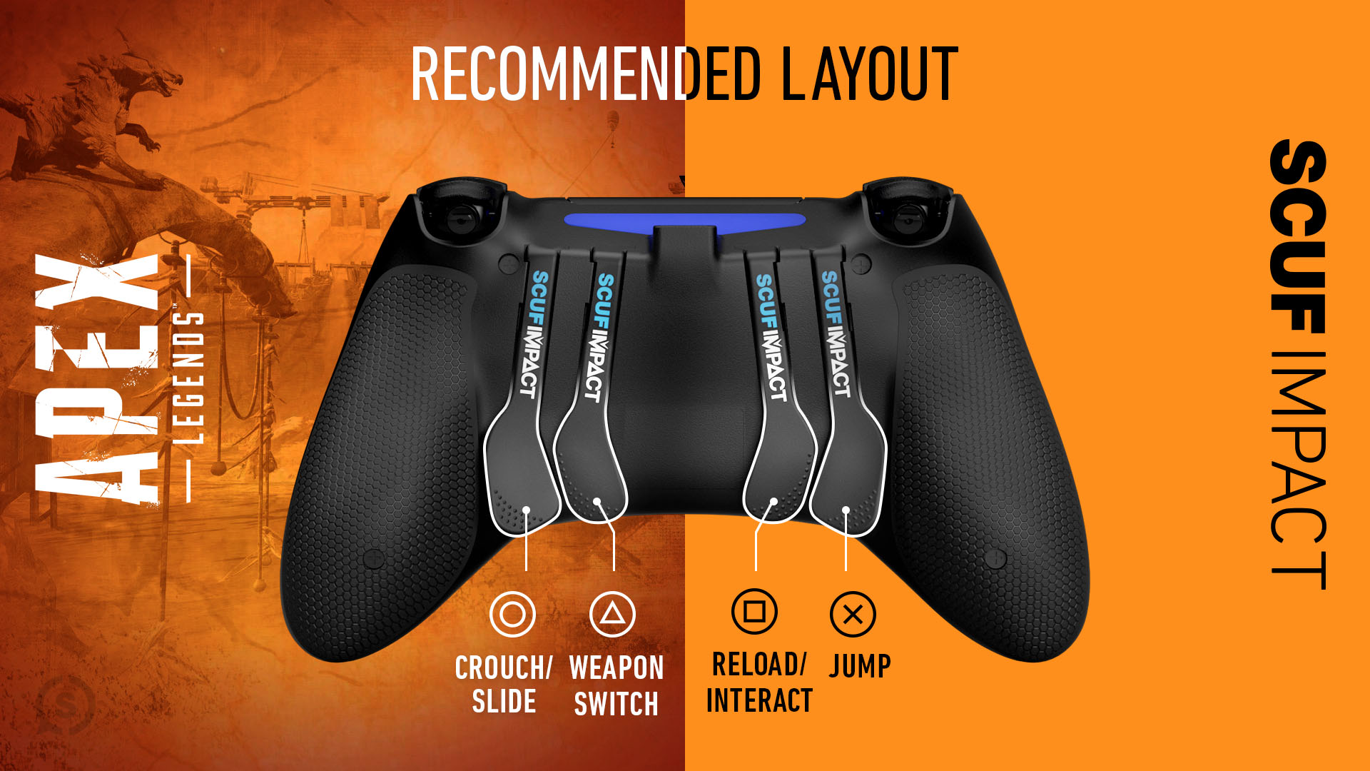 Apex Legends Playstation 4 Setup SCUF IMPACT