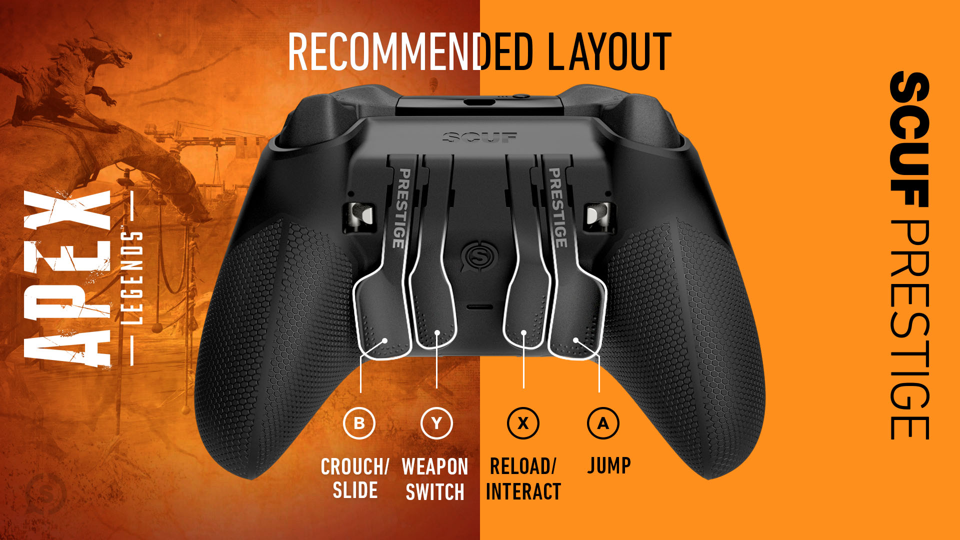 Xbox Series X Controller Setup Apex Legends Xbox Series S Controller Setup Apex Legends SCUF PRESTIGE
