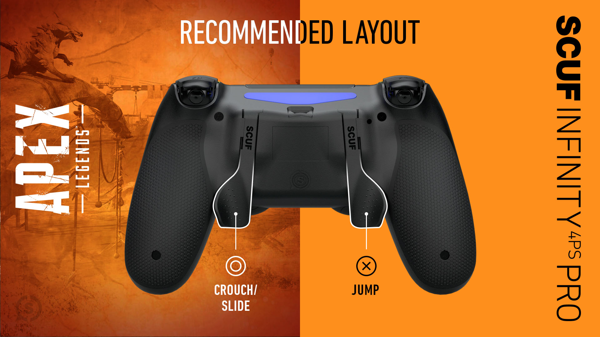Apex Legends Playstation 4 Controller Setup SCUF Infinity4PSPRo