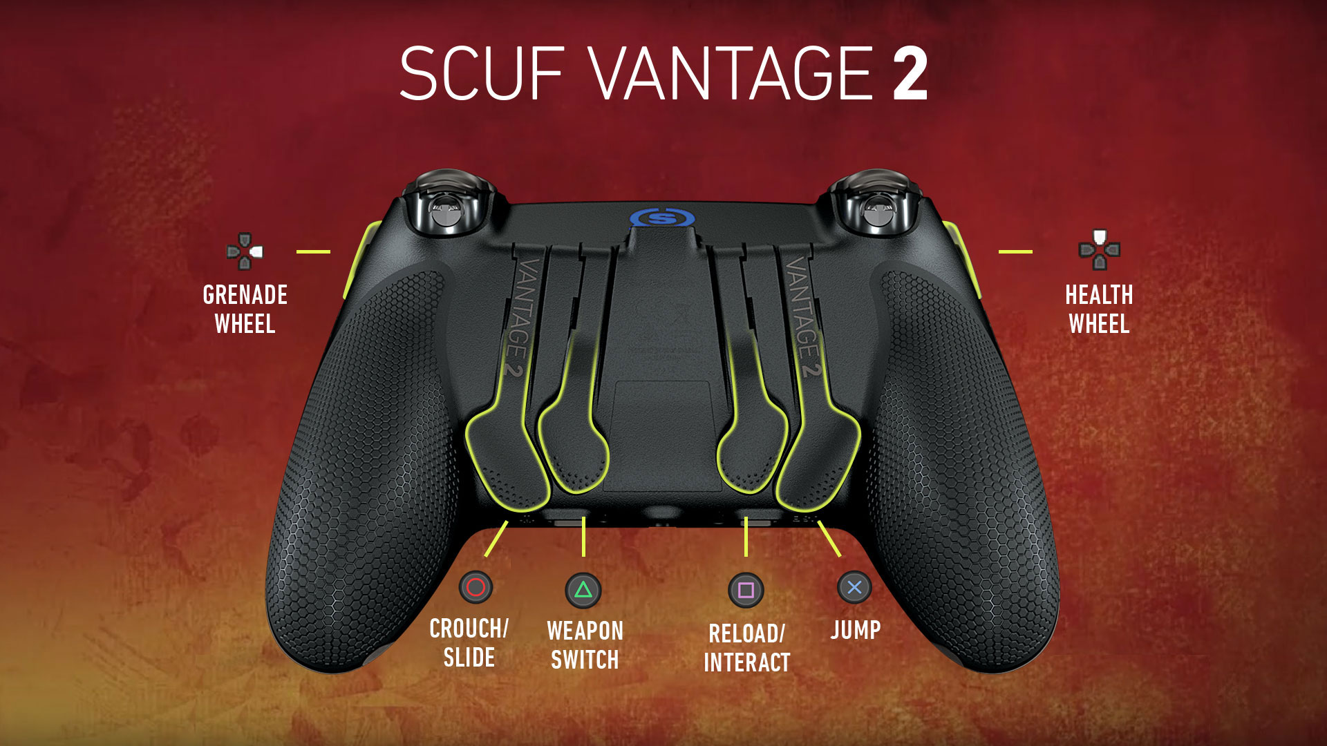 SCUF Vantage 2 Apex Legends PS4 Controller Set Up