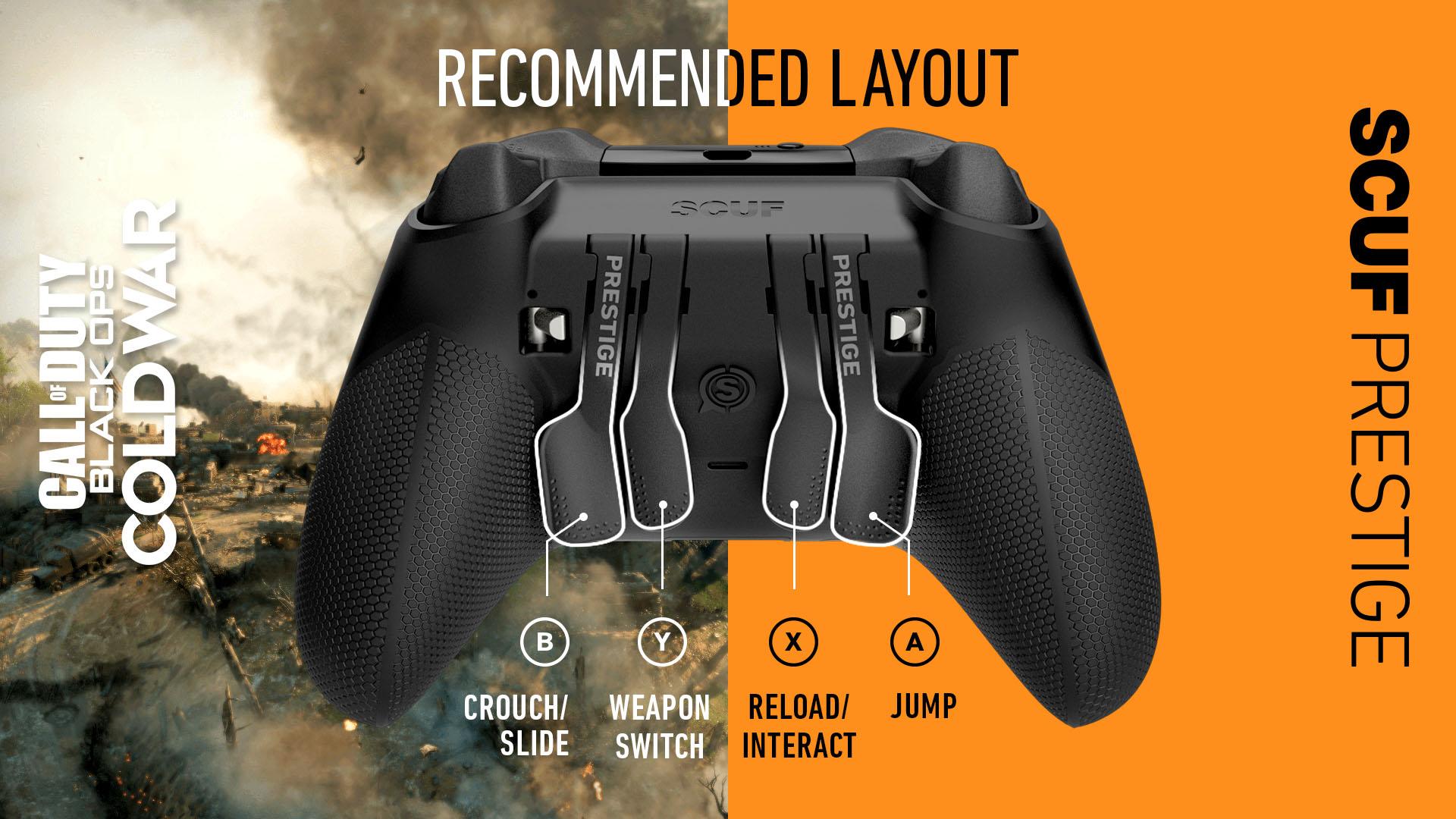 COD Black Ops Cold War Xbox Controller Setup SCUF Prestige