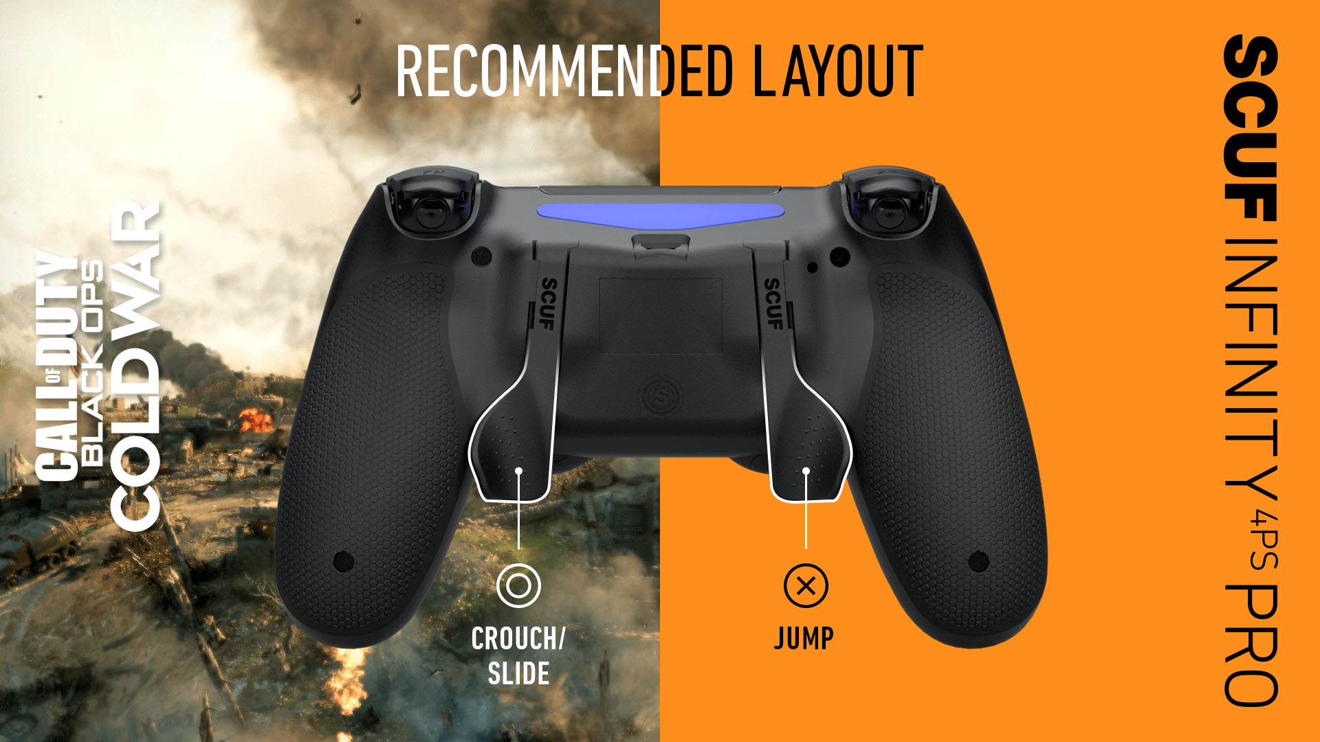 SCUF Infinity4PSPRO Call of Duty Black Ops Cold War PS4 Controller Set Up