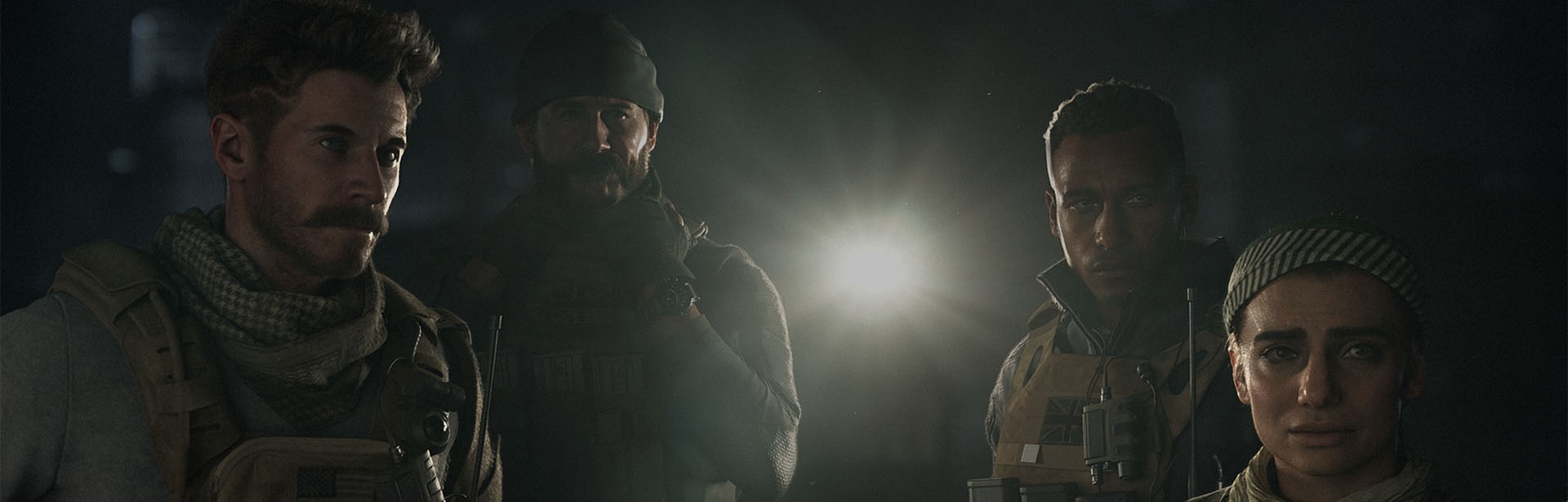 Call of Duty: Modern Warfare Available Now! header