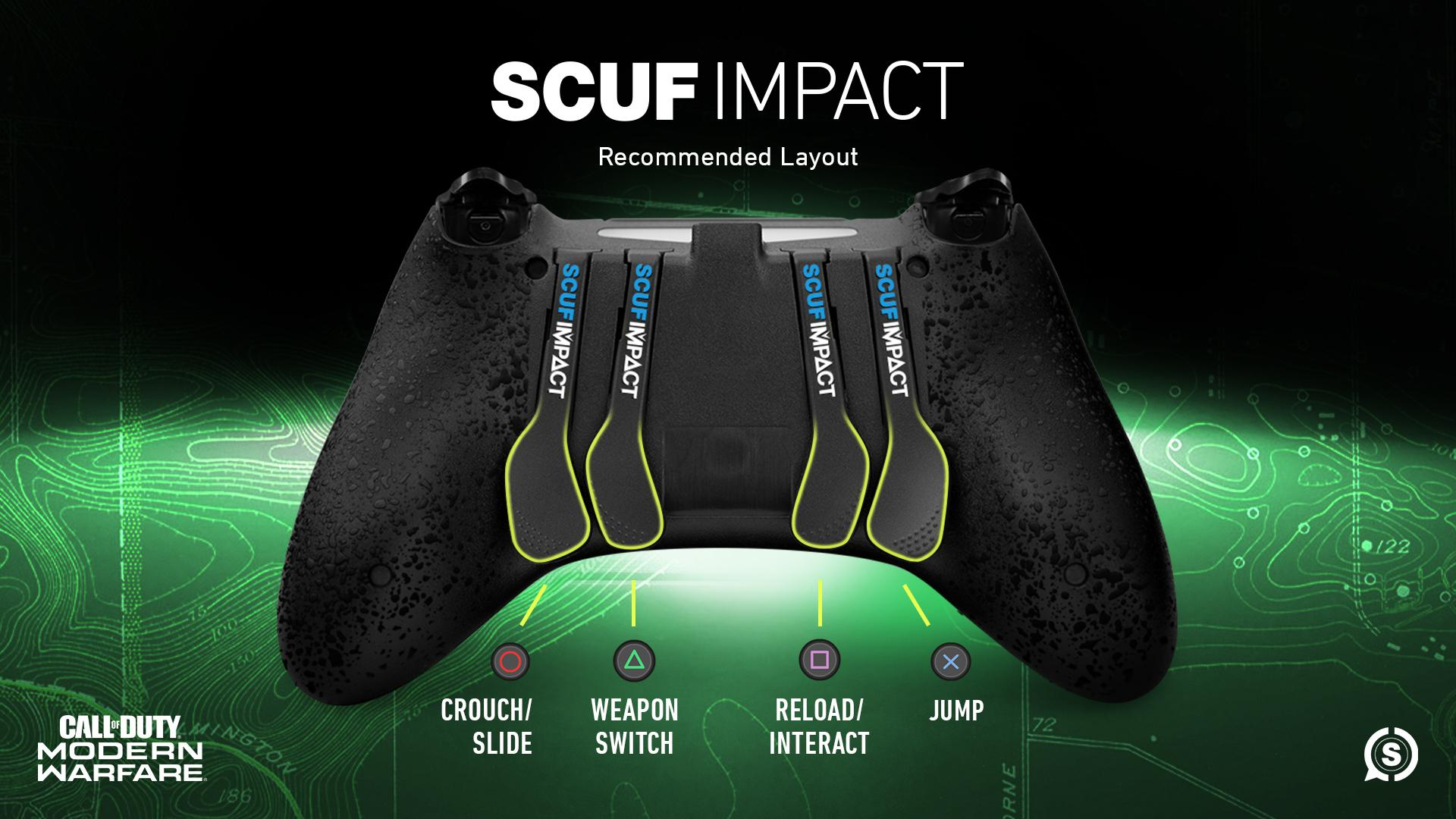 SCUF IMPACT Call of Duty Modern Warfare Controller Configuration