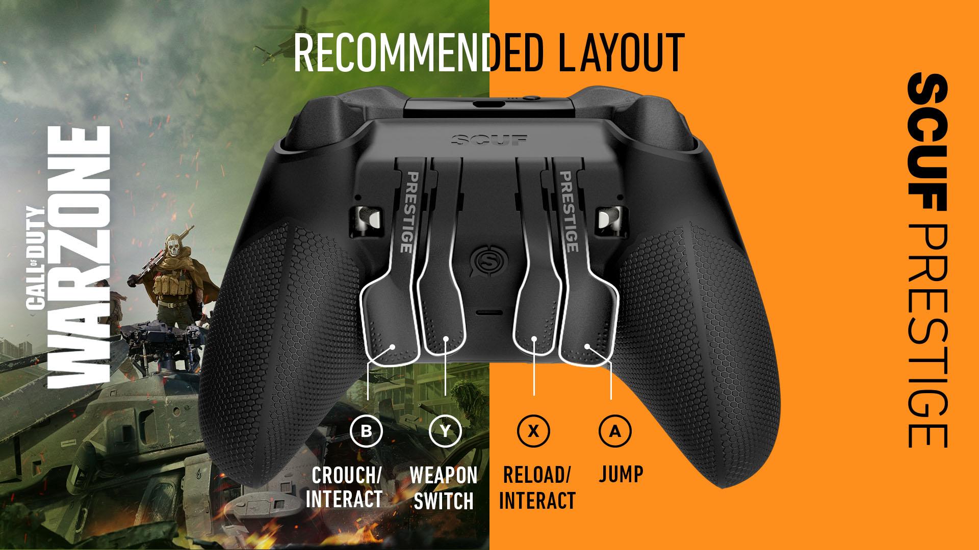 COD Warzone Xbox Controller Setup SCUF Prestige