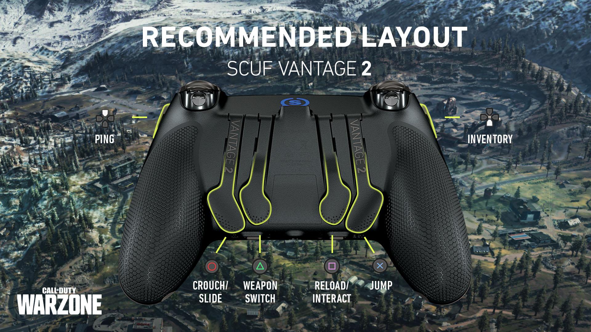 SCUF Vantage 2 COD Warzone PS4 Controller
