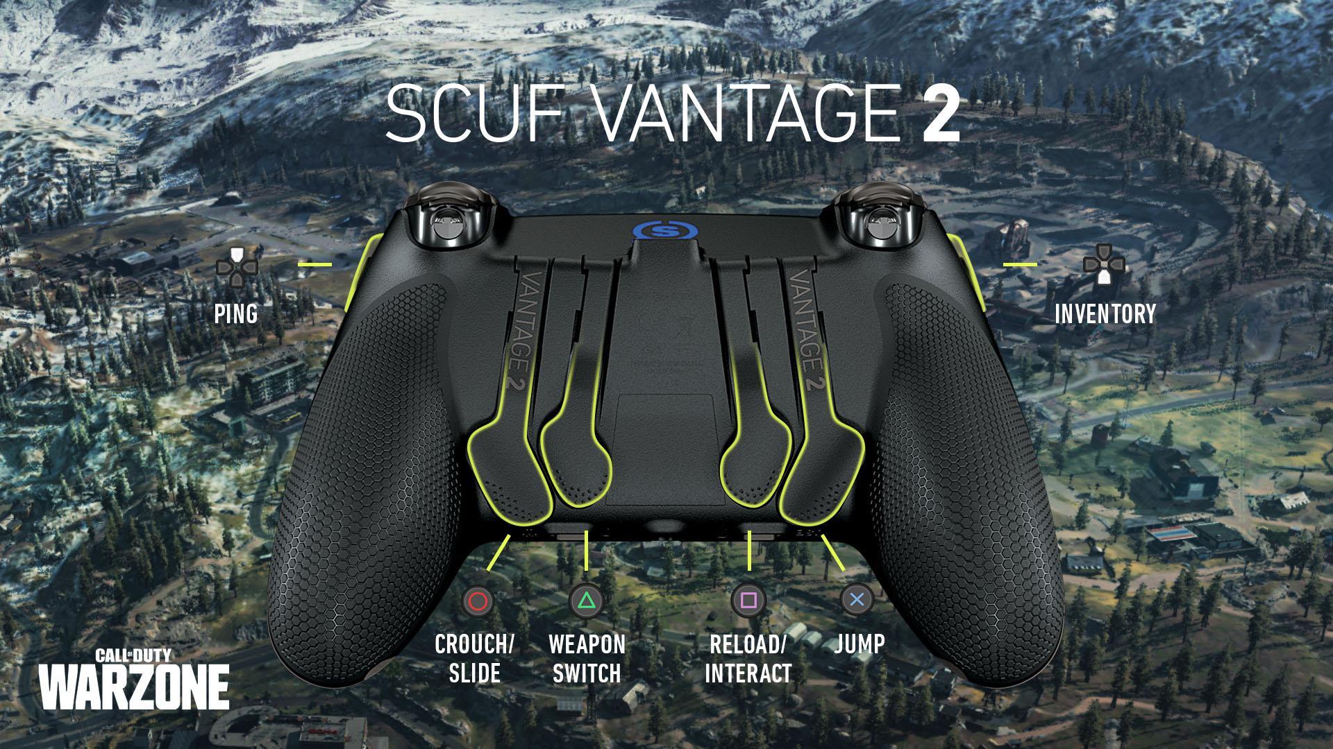SCUF Prestige COD WARZONE Xbox One Controller Setup