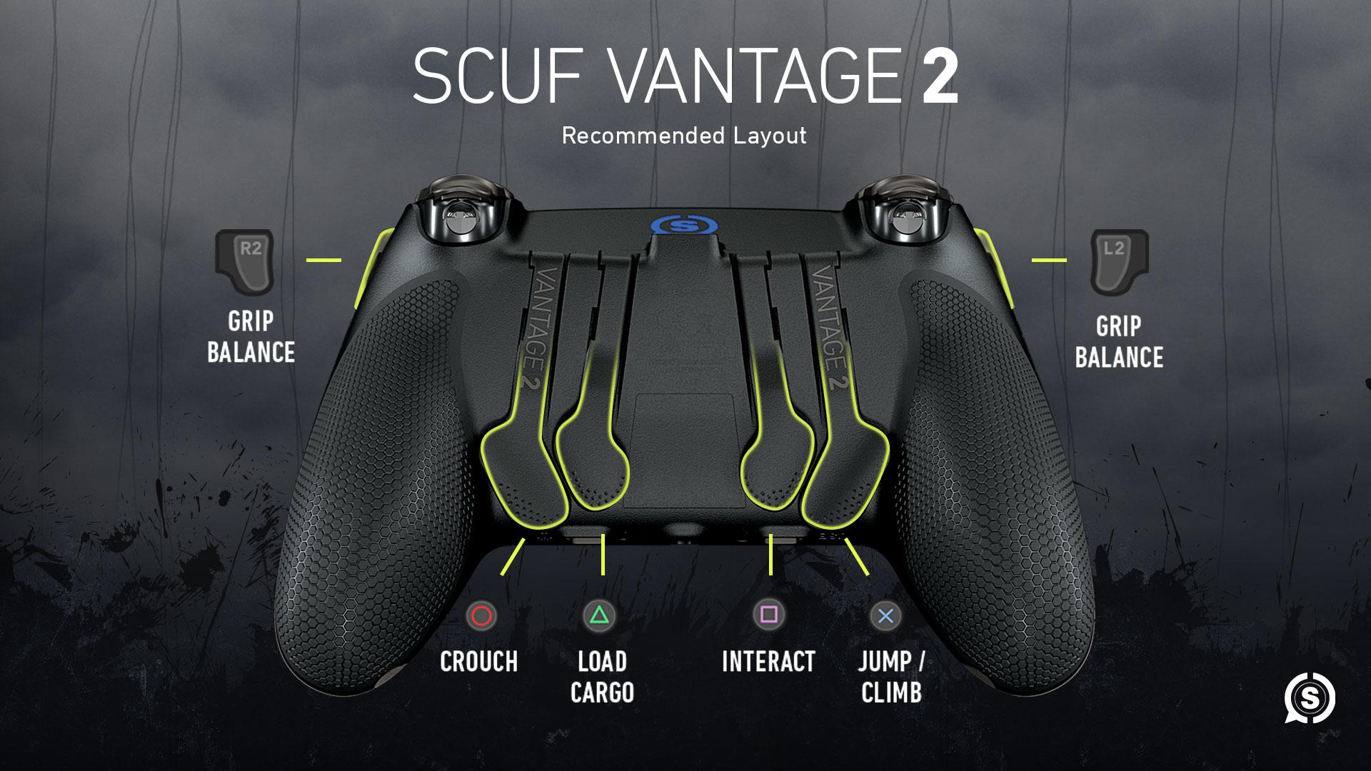 SCUF Vantage 2 Death Stranding Controller Configuration