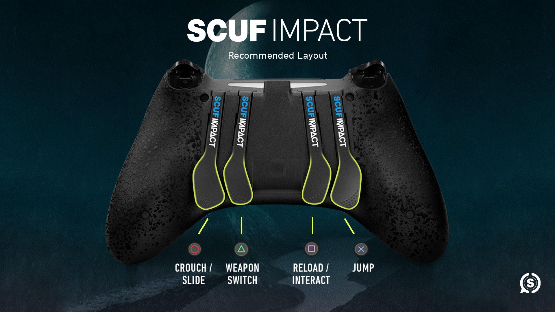 SCUF IMPACT Destiny 2 Shadowkeep Controller Configuration