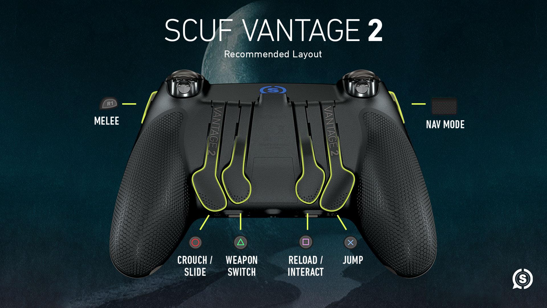 SCUF Vantage 2 Destiny 2 Shadowkeep Controller Configuration
