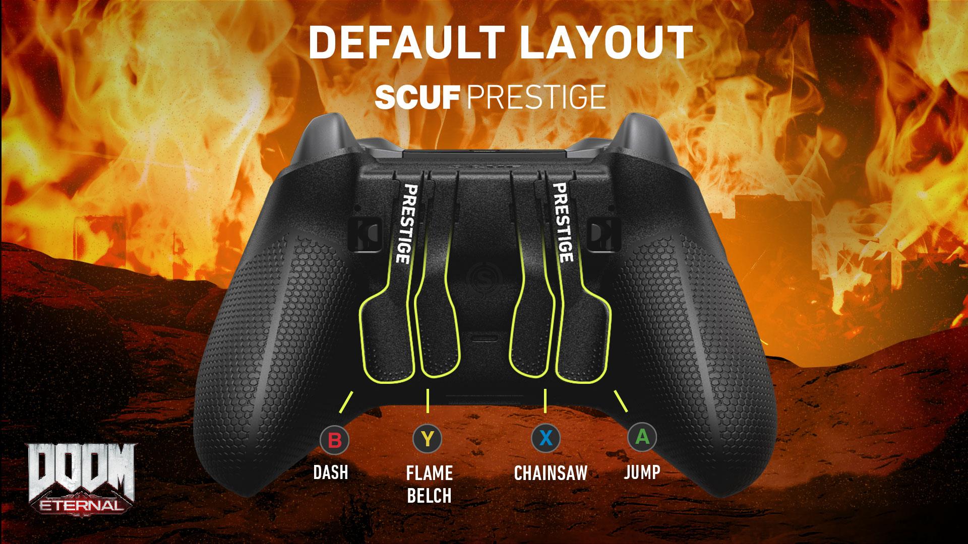 SCUF Prestige Doom Eternal Xbox One Controller Setup