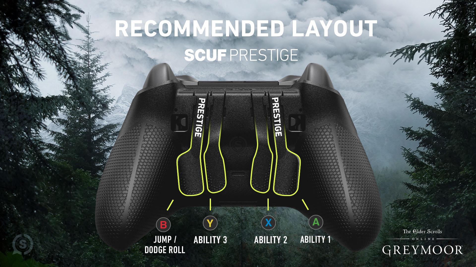 SCUF PRESTIGE Elder Scrolls Online Xbox Controller PC Controller