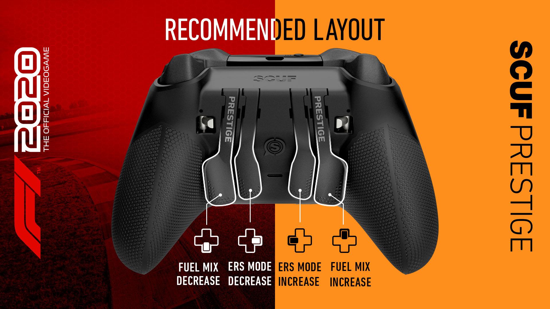 SCUF PRESTIGE F1 2020 Xbox Controller Setup