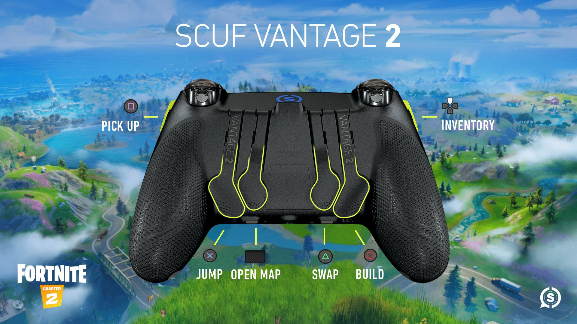 SCUF Vantage 2 Fortnite Controller Set Up