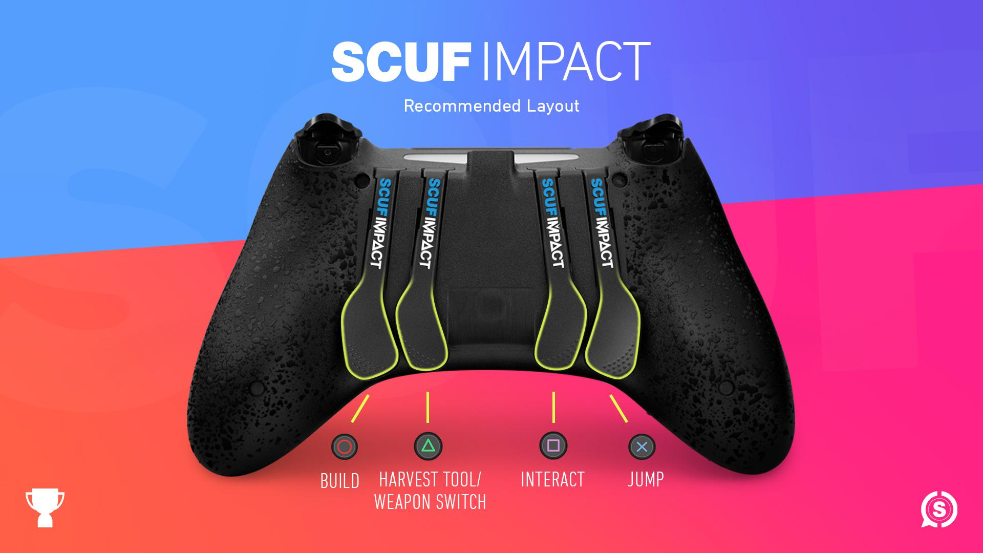 SCUF IMPACT Fortnite Controller Configuration