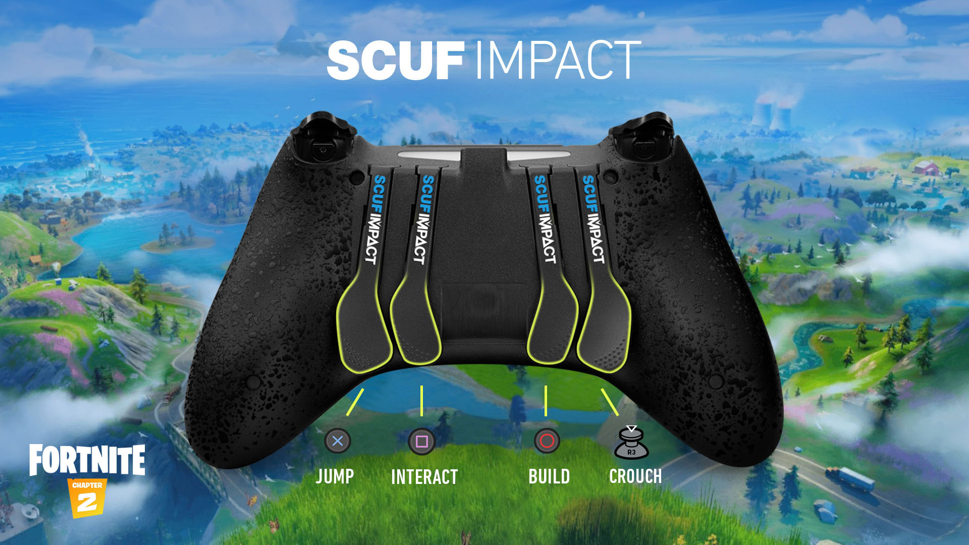 SCUF IMPACT Fortnite Controller Set Up