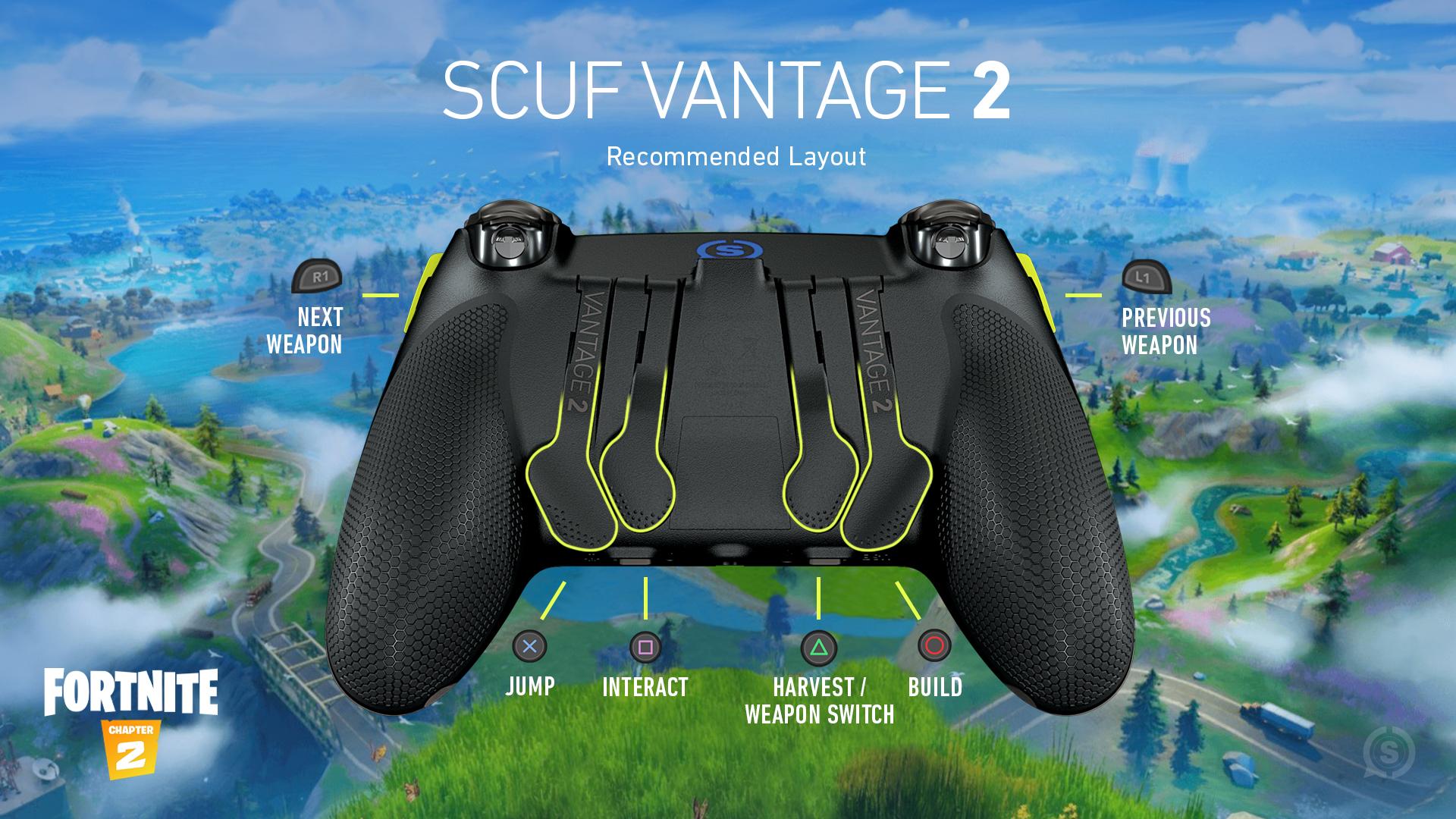 SCUF Vantage 2 Fortnite PS4 Controller Set Up
