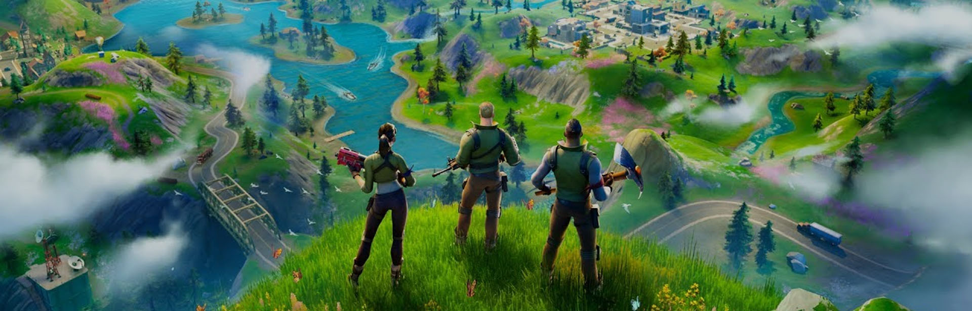 What is New in Fortnite Chapter 2 header