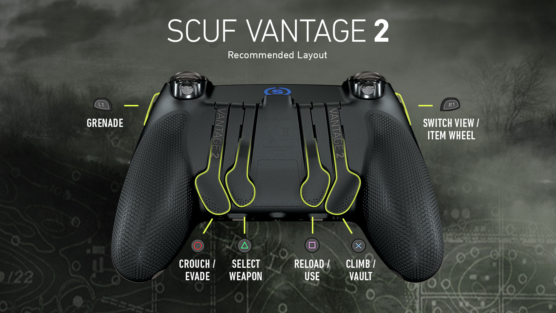 SCUF Vantage 2 Ghost Recon Breakpoint Controller Configuration