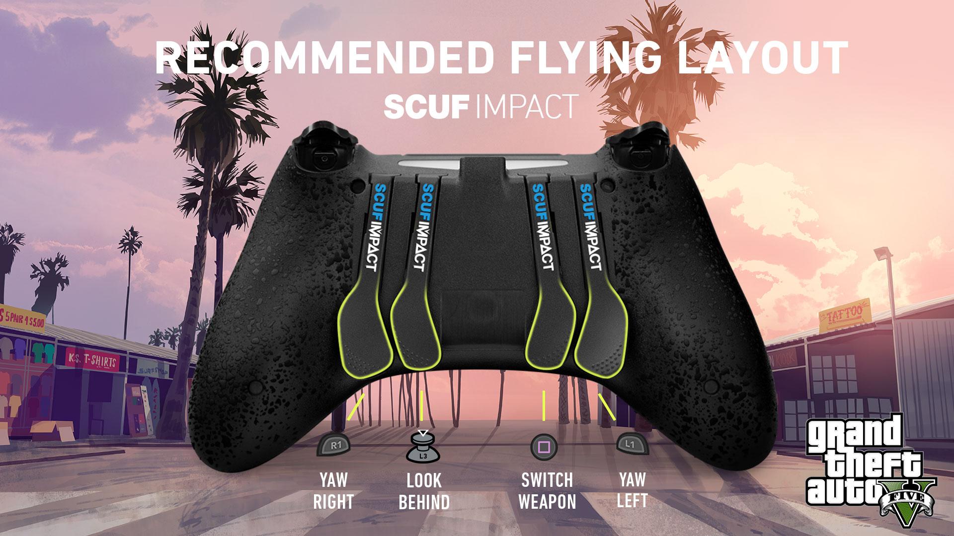 SCUF IMPACT GTA V Online ps4 Controller setup