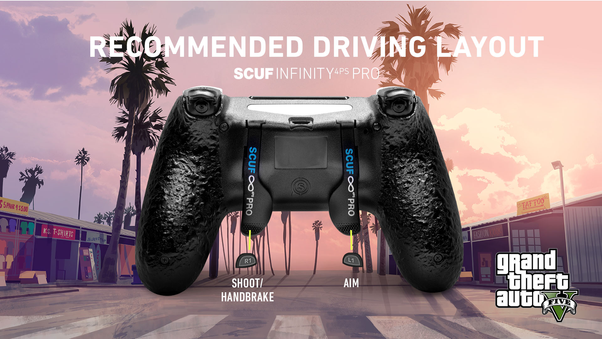 SCUF Infinity4PSPRO GTA V Online PS4 Controller Set Up