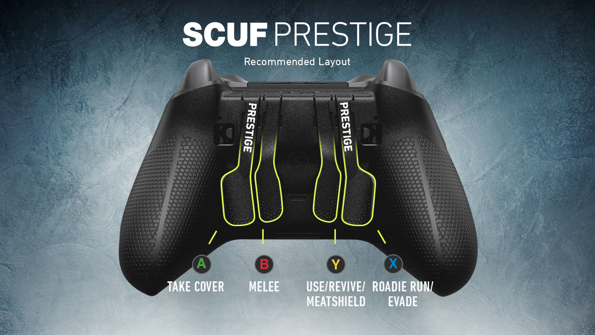 Gears 5 SCUF Prestige Controller Recommended Layout