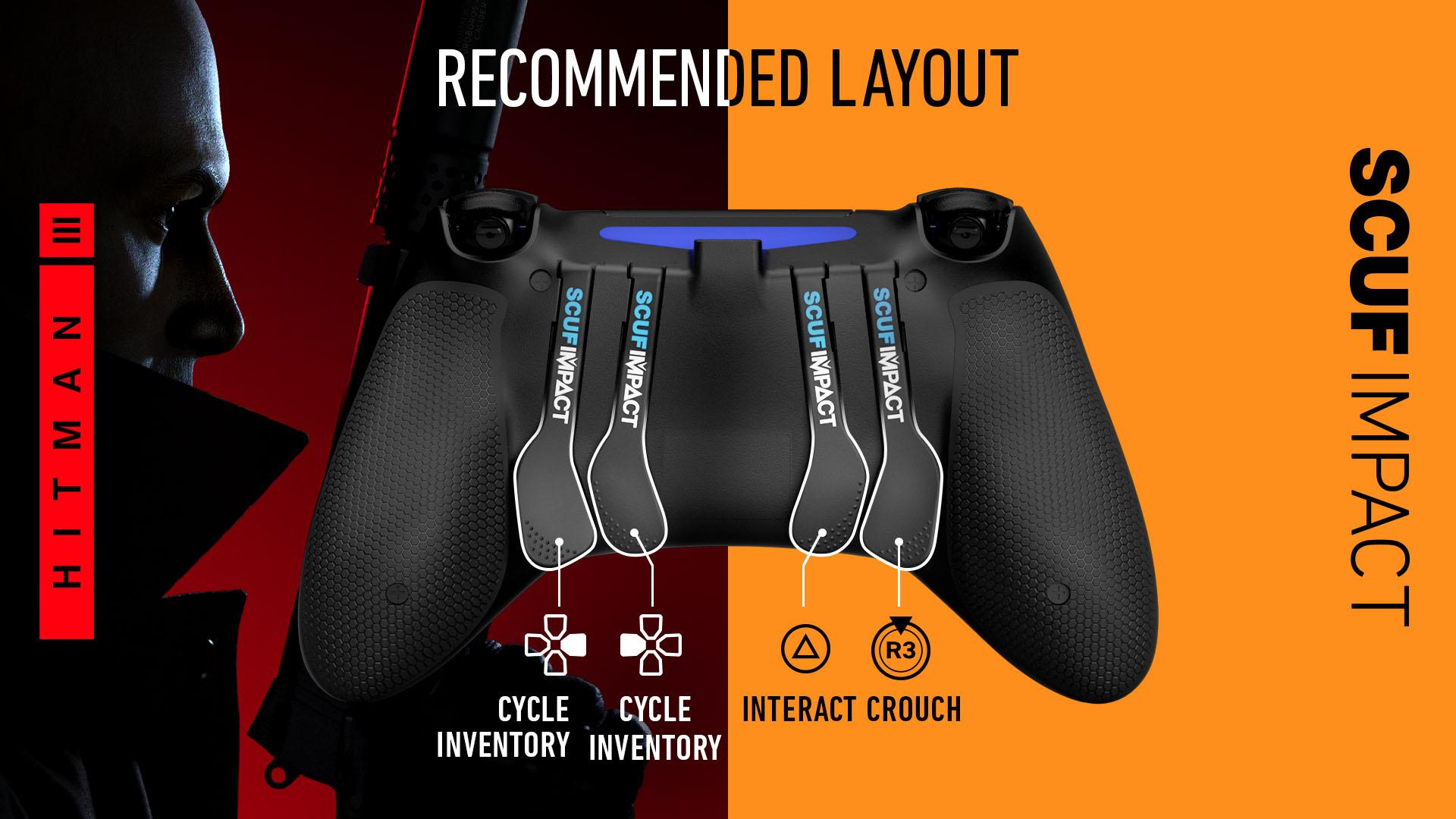 Hitman 3 PS4 Controller Set Up SCUF IMPACT