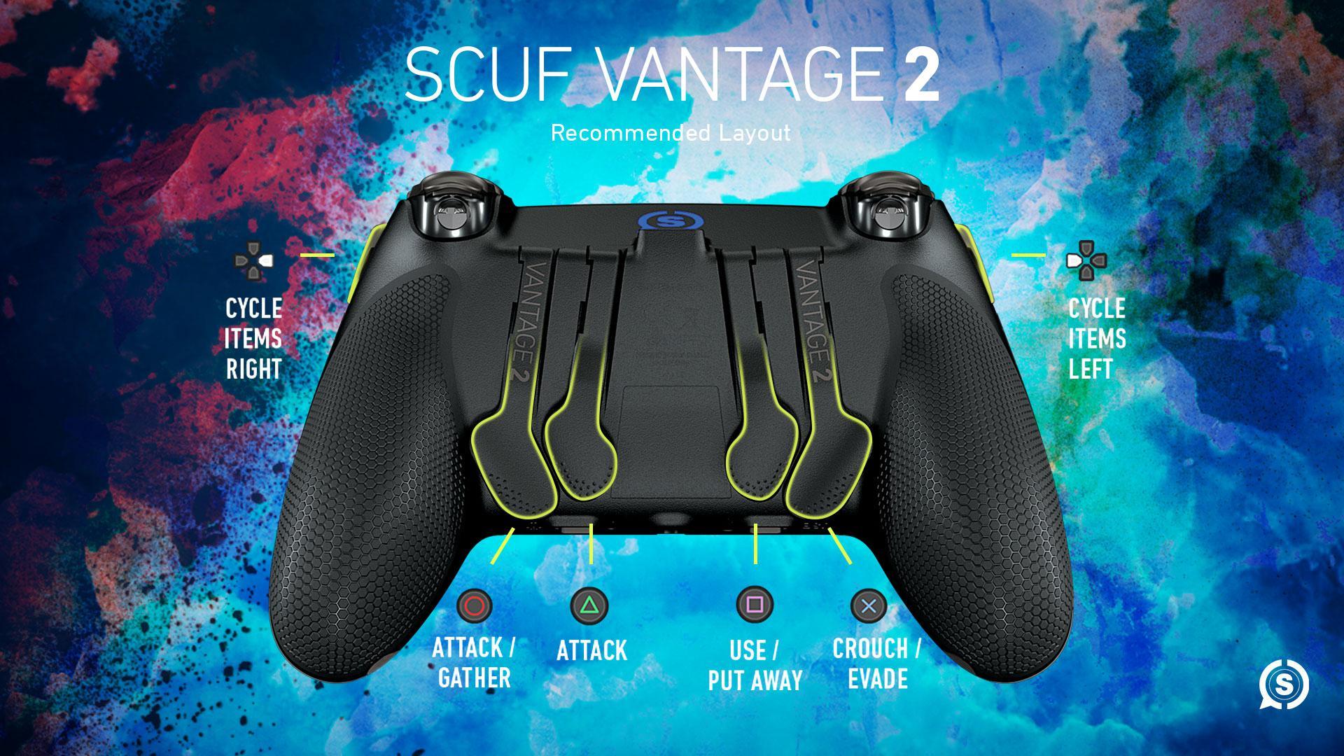 SCUF Vantage 2 MHW Iceborne Configuration