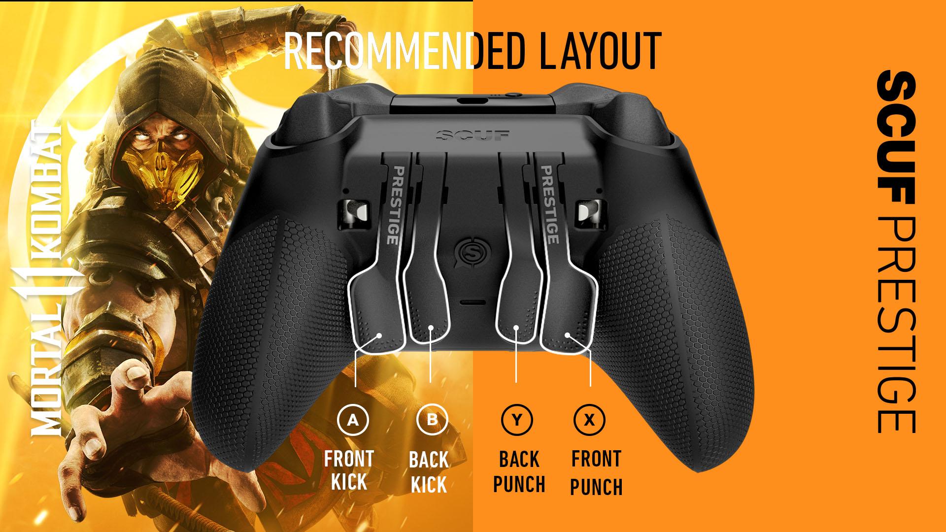 Mortal Kombat 11 Xbox Layout SCUF PRESTIGE