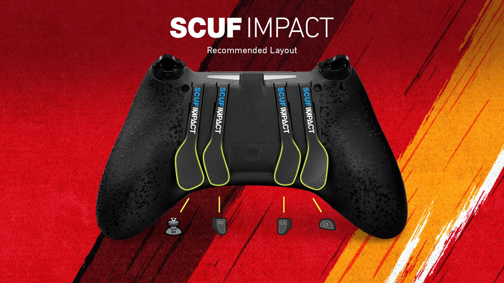 SCUF IMPACT Madden 20 QB Controller Configuration