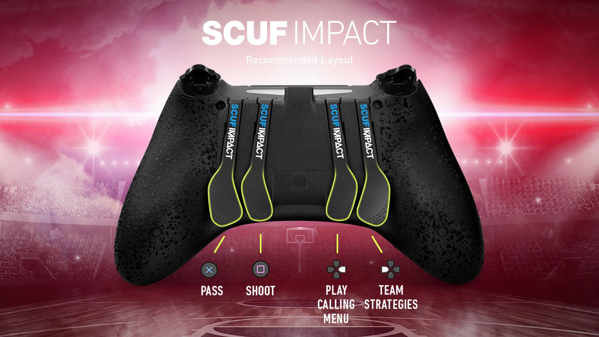 SCUF IMPACT NBA 2K20 Controller Configuration