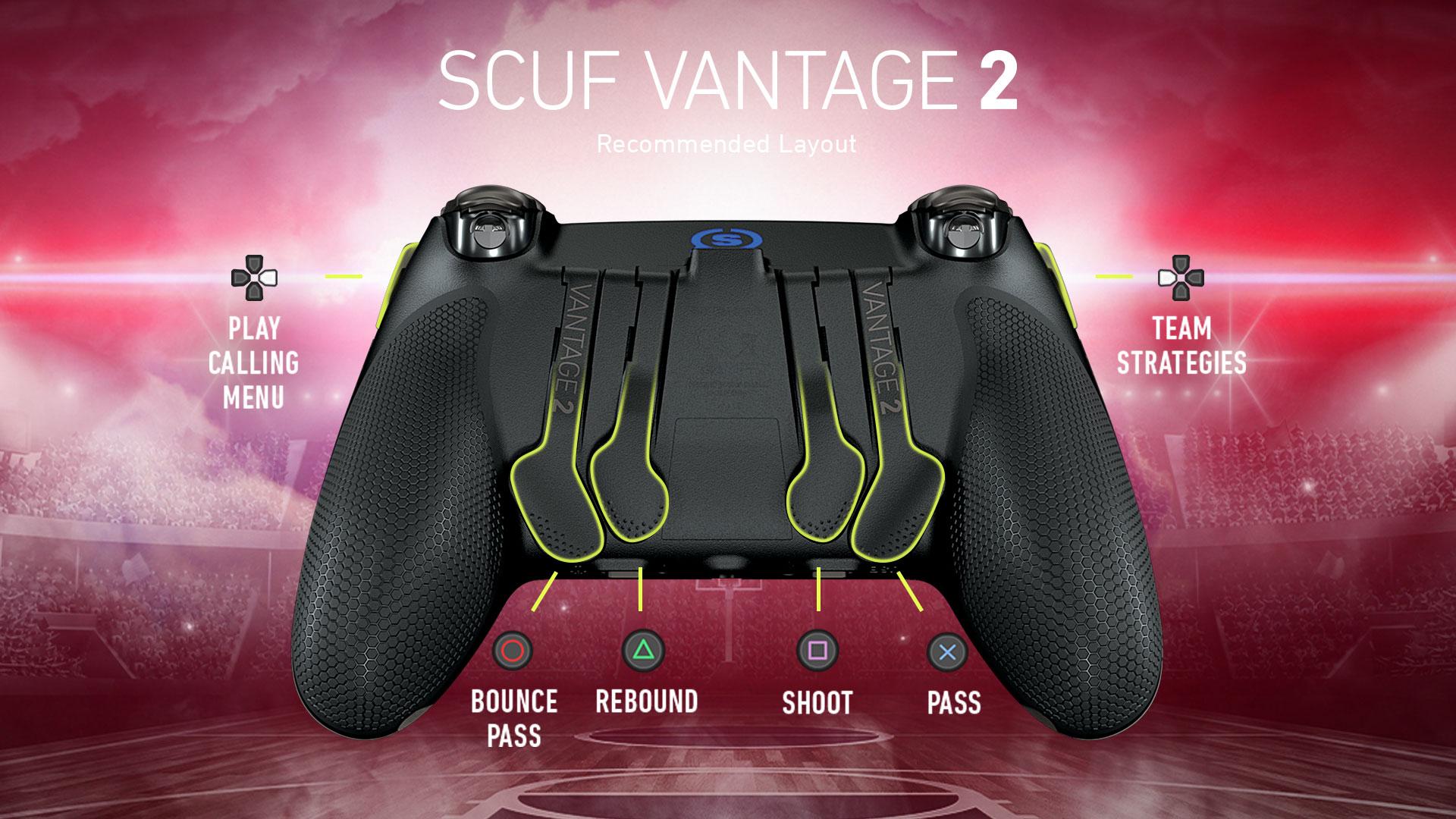 SCUF Vantage 2 NBA 2K20 Controller Configuration