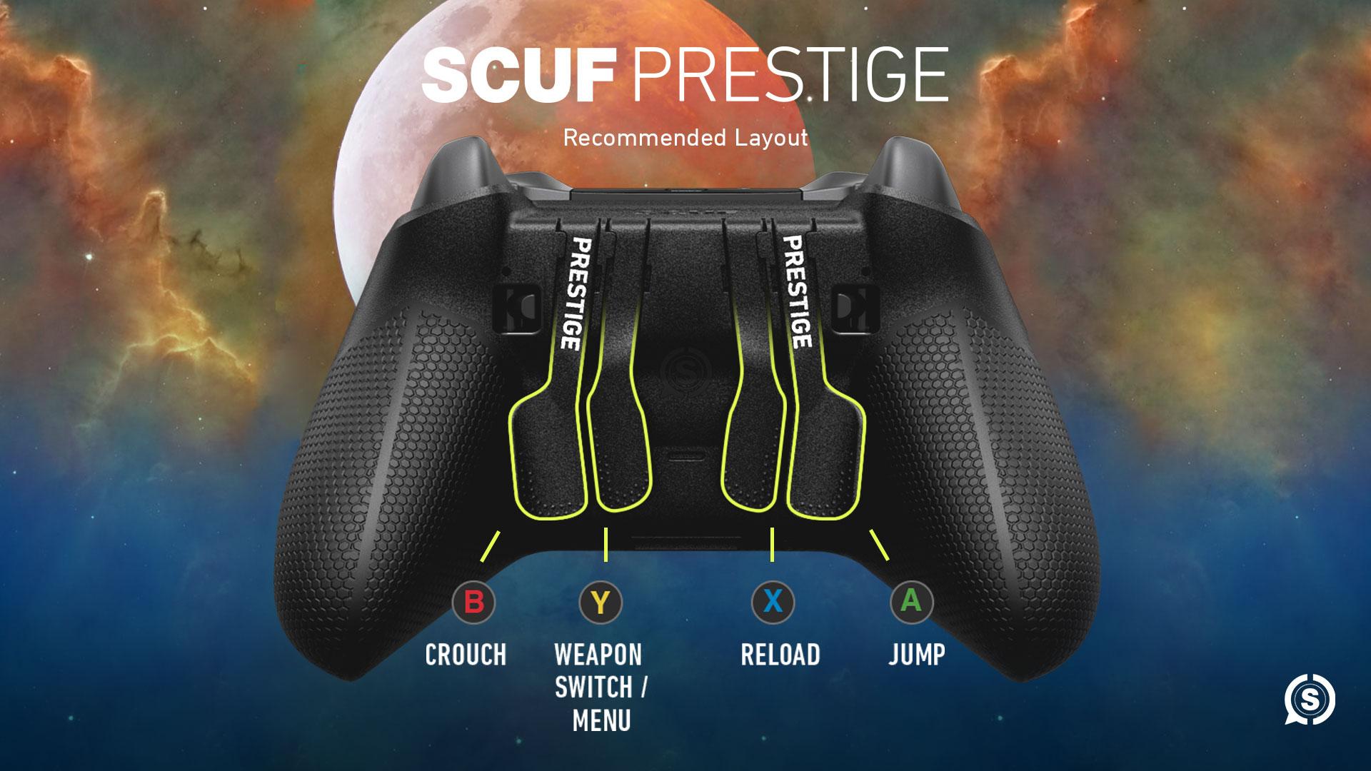 SCUF Prestige Destiny 2 Shadowkeep Controller Configuration