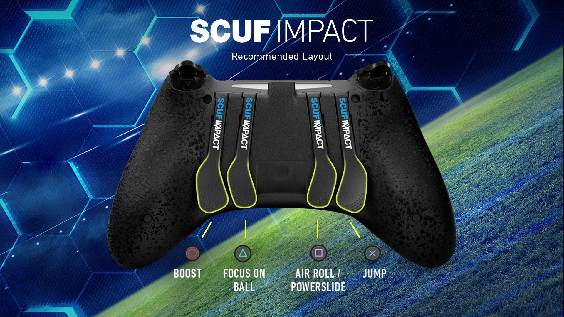 SCUF IMPACT Rocket League Controller Configuration