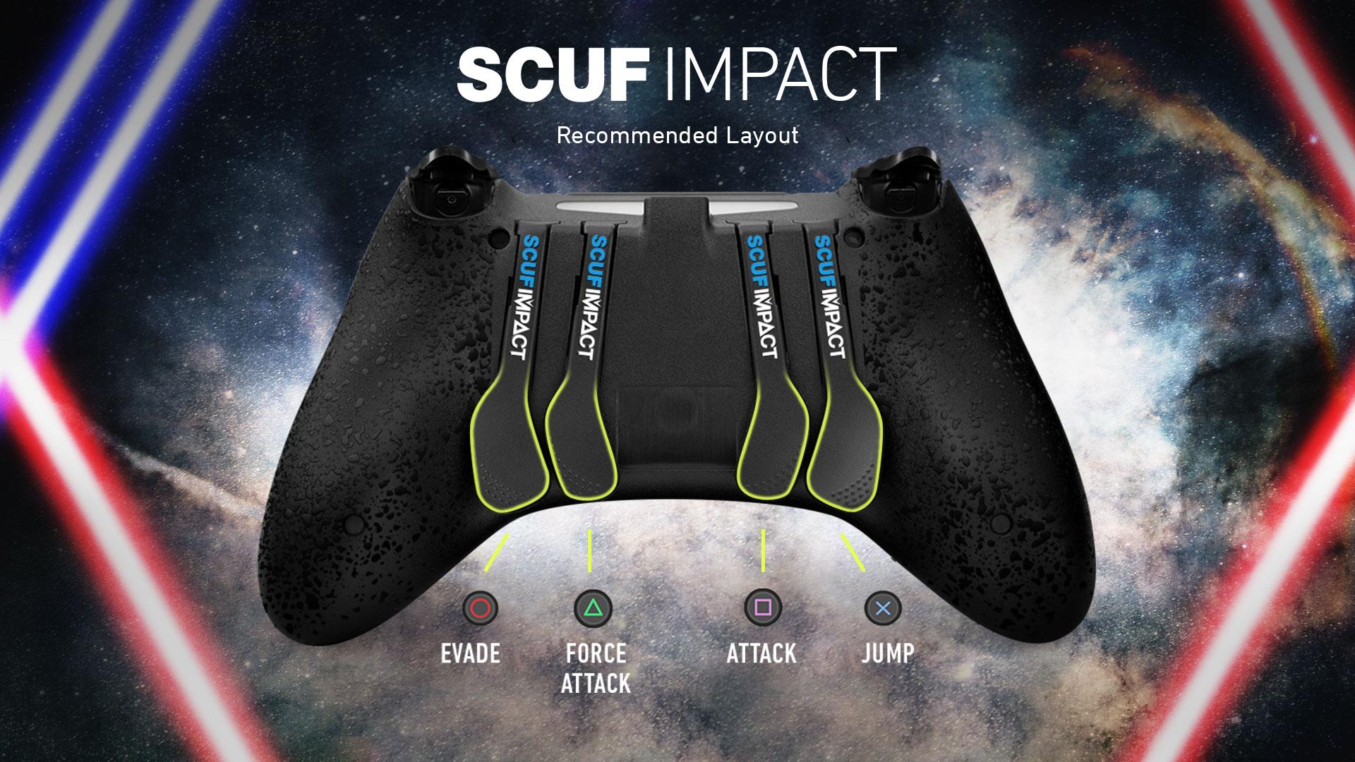 SCUF IMPACT Star Wars Jedi Controller Configuration