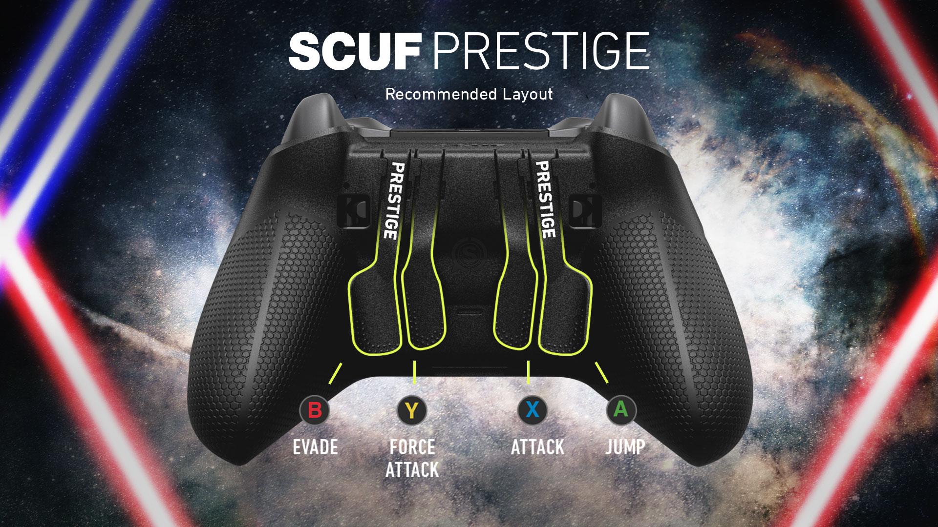 SCUF Prestige Star Wars Jedi Controller Configuration