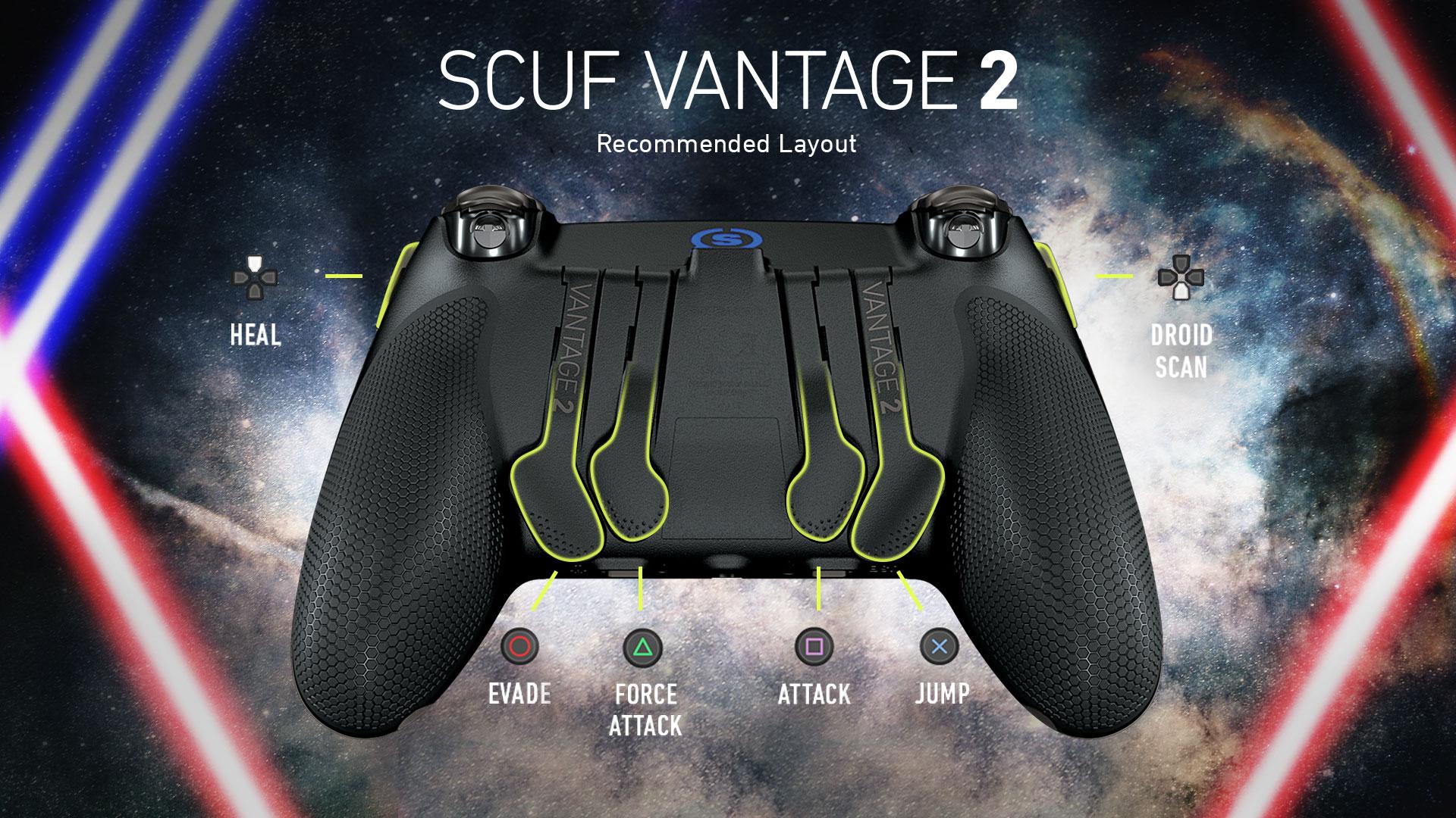 SCUF Vantage 2 Star Wars Jedi Controller Configuration