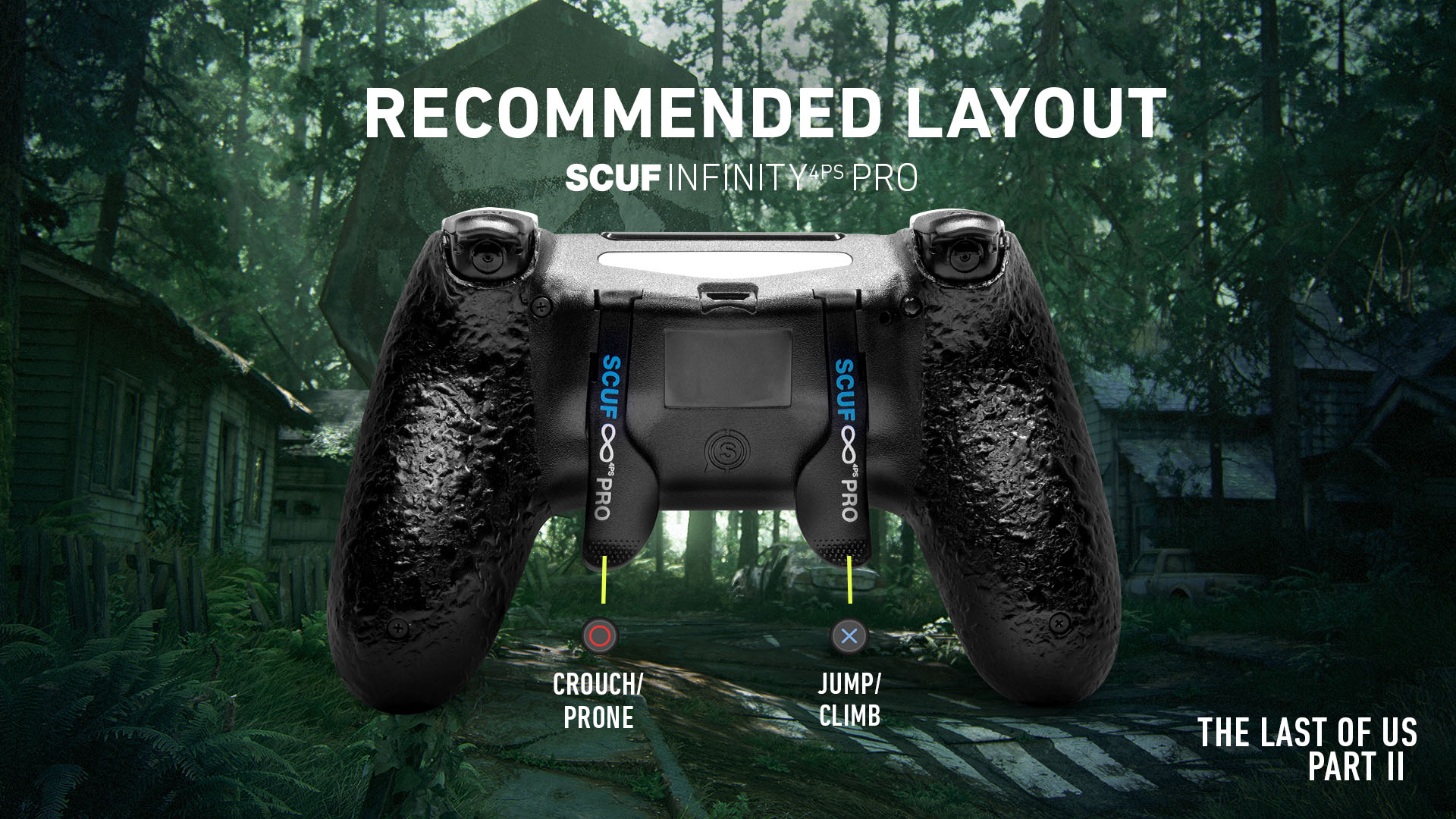 SCUF Infinty4PSPRO The Last of Us Part II ps4 Controller setup