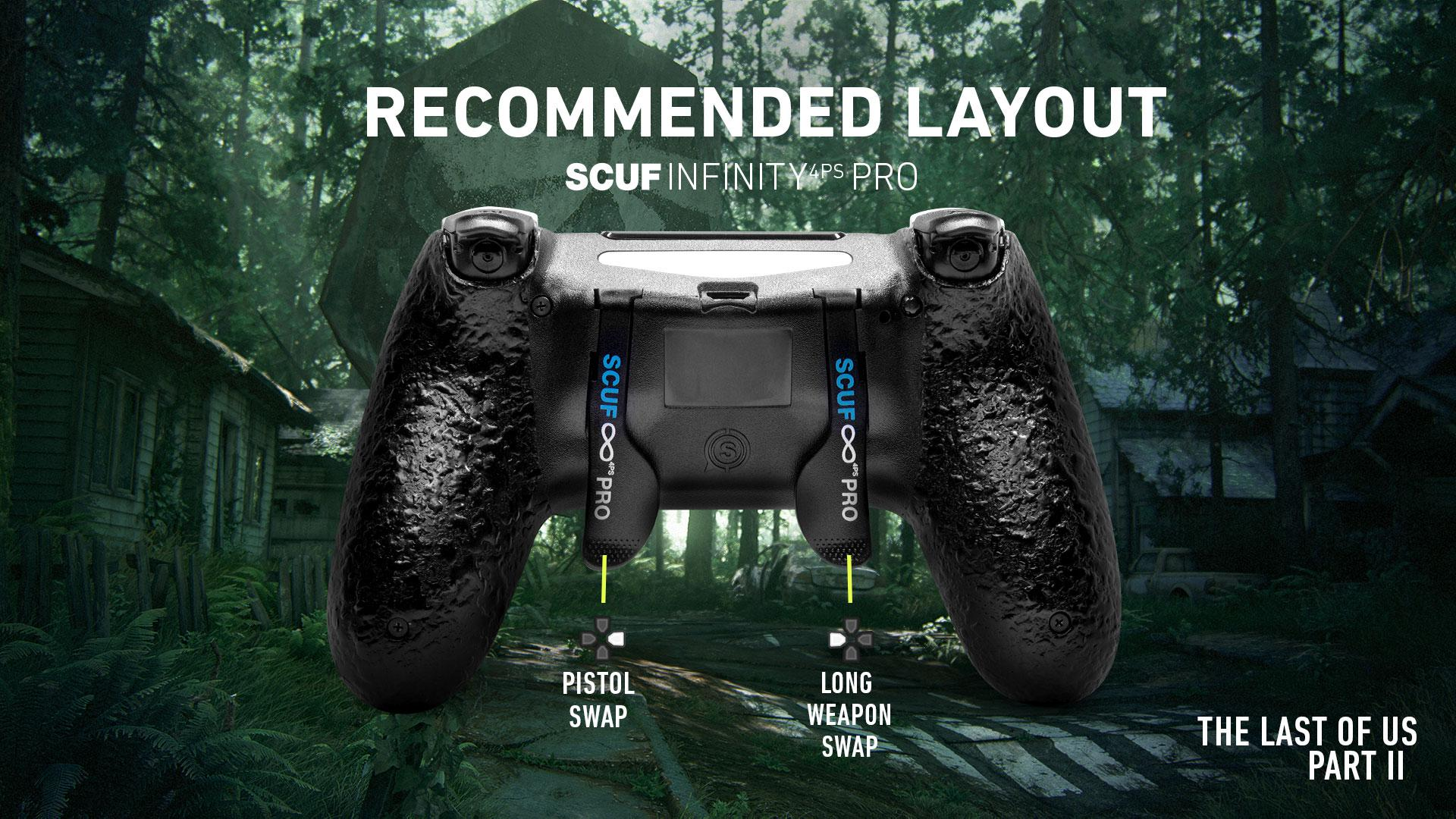 SCUF Infinity4PSPRO The Last of Us Part II PS4 Controller Setup