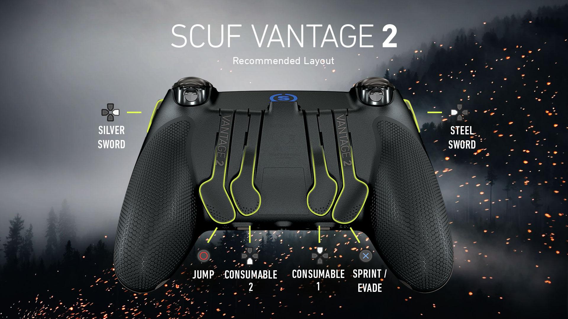 SCUF Vantage 2 Witcher 3 Controller Configuration