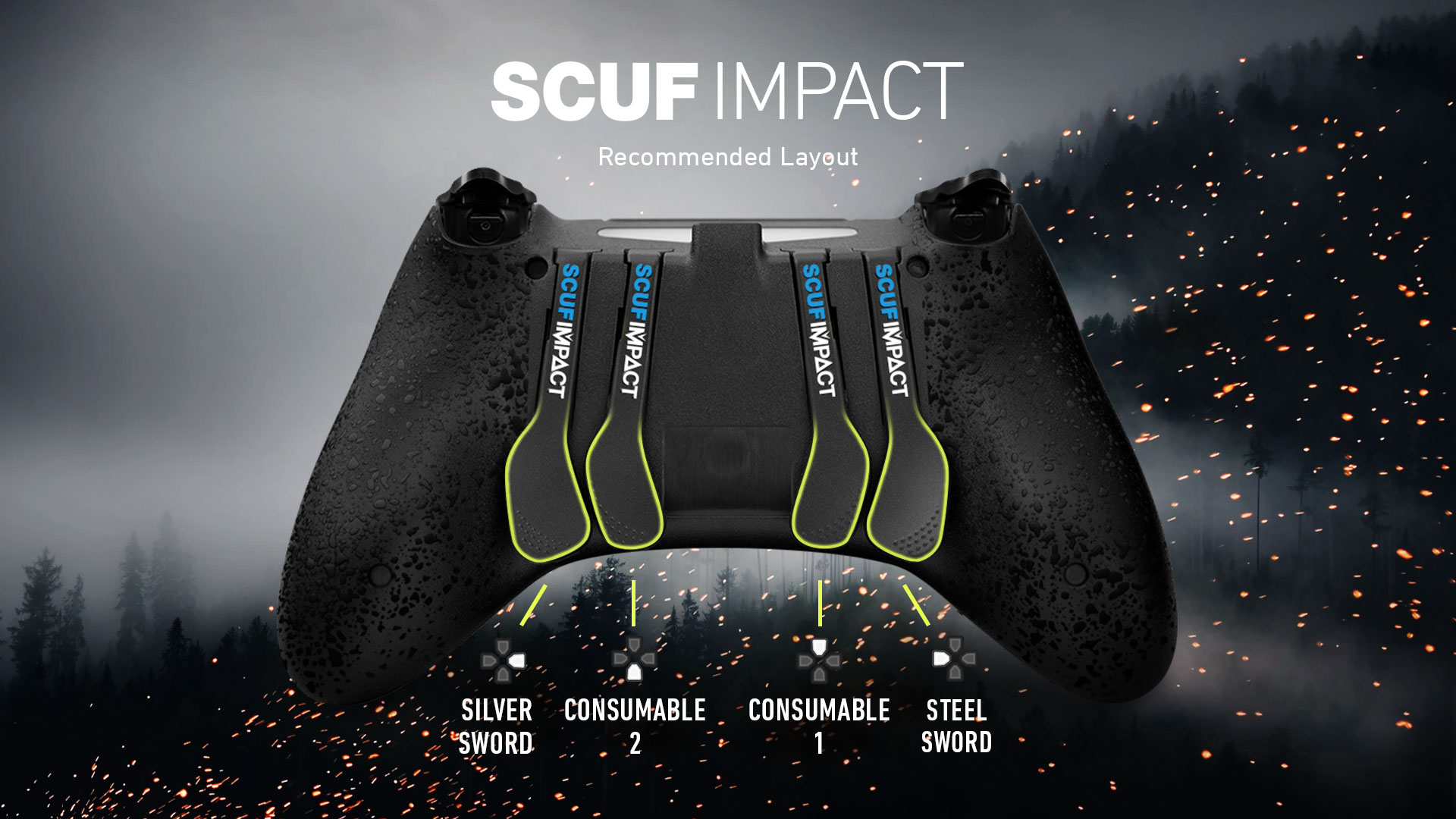 SCUF IMPACT Witcher 3 Controller Configuration