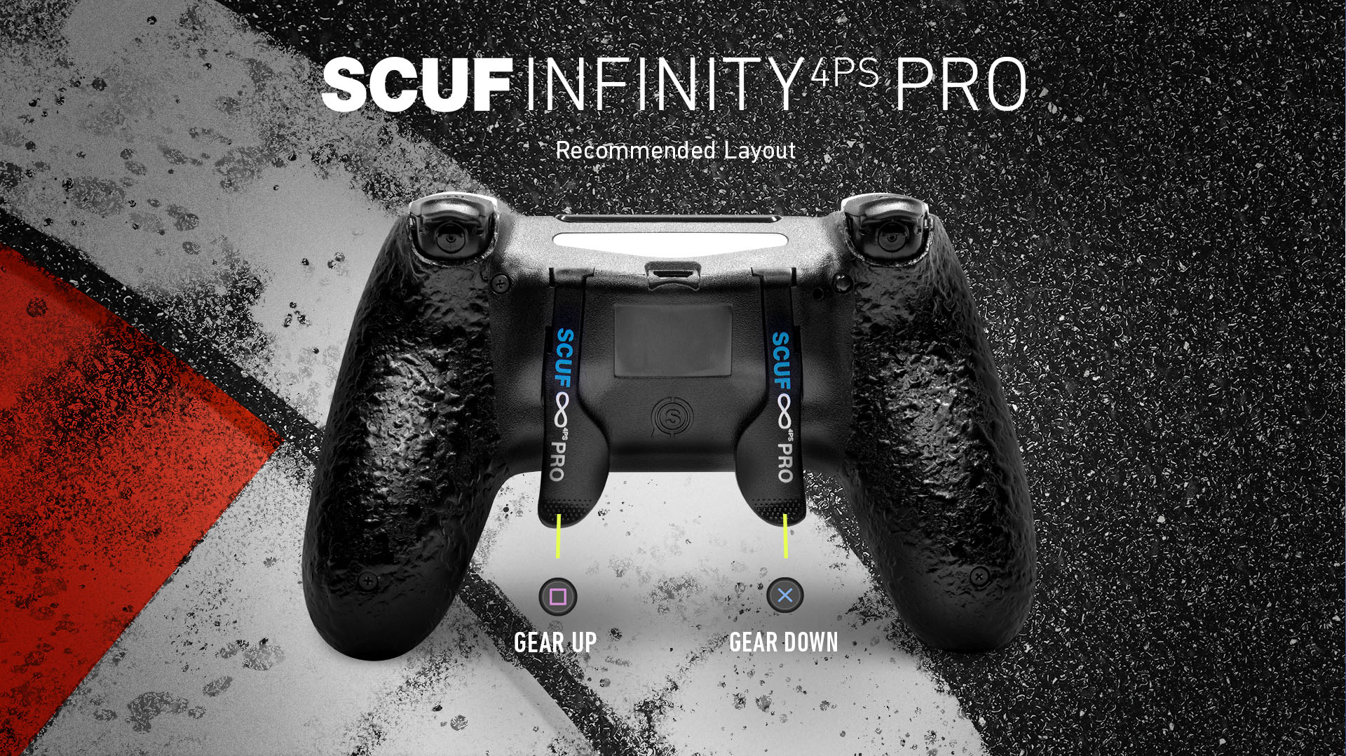SCUF Infinity 4ps PRO F1 2019 PS4 Controller Set Up