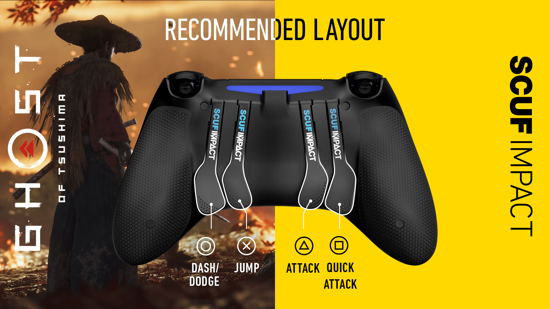 SCUF IMPACT Ghost of Tsushima PS4 Controller Setup