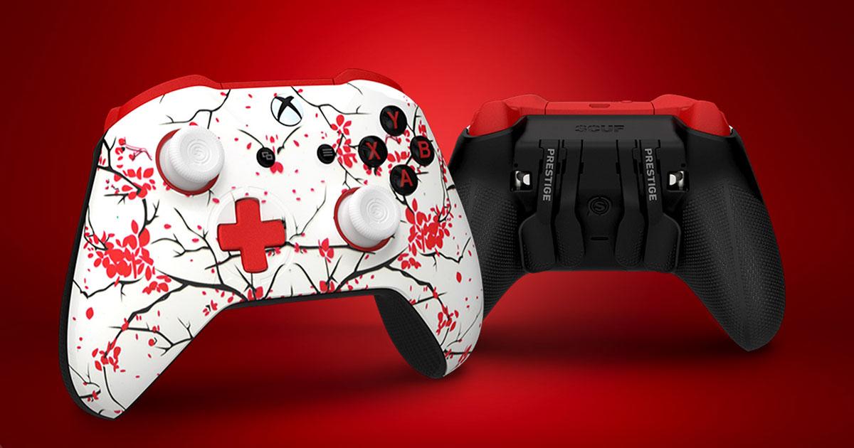 SCUF Cherry Blossom Prestige Controller for Xbox