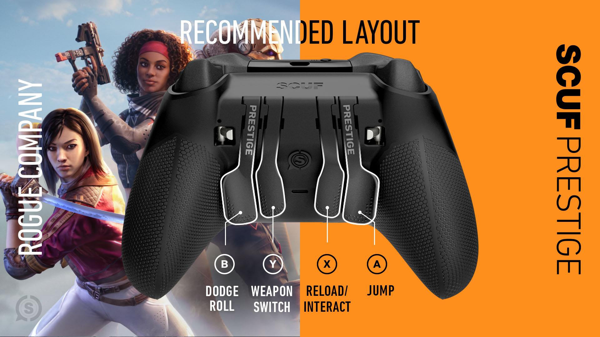 Rogue Company Xbox Controller Setup SCUF Prestige