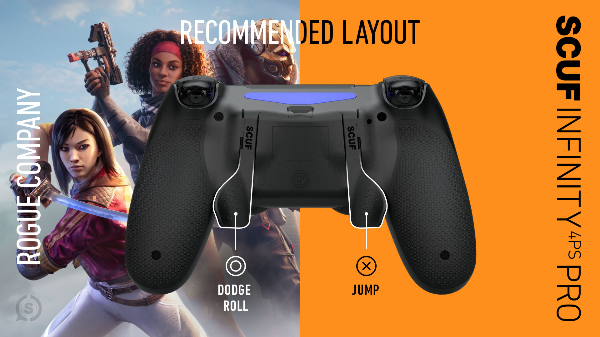 Rogue Company PS4 Controller Set Up SCUF Infinity4PSPro